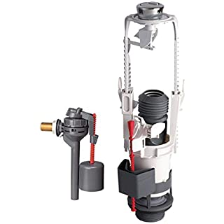 Complete Mechanism-Construction-3/6Litres with Lateral Float Valve-Pro ALTECH 14370002