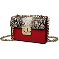 70fe042b5 2019 nueva tendencia bolso estampado leopardo color teléfono móvil cadena  pequeña bolsa cuadrada PU hembra