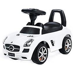 Vehículo Ride On - Mercedes SLS AMG Blanco