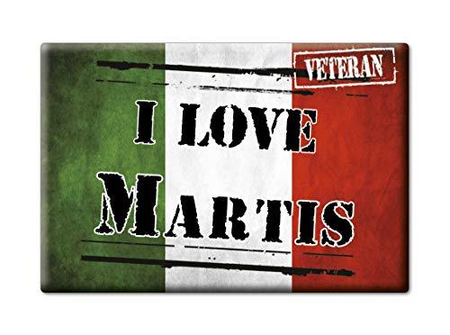Enjoymagnets MARTIS Souvenir Sardegna (SS) KÜHLSCHRANK Magnet Fridge ICH Liebe Gift I Love (VAR. Veteran) - Ss-side-by-side Kühlschrank