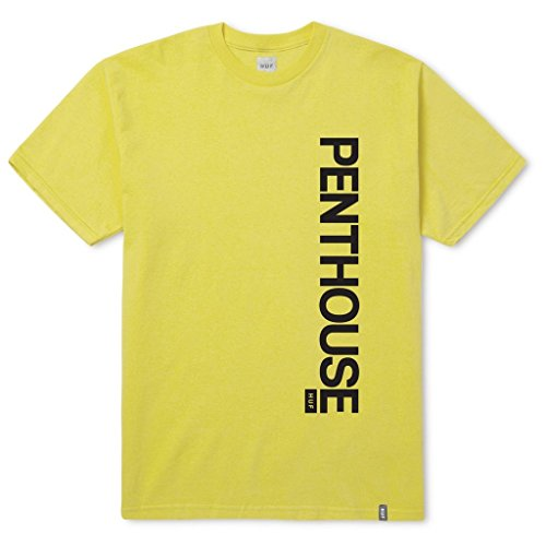 HUF Penthouse Rose T-Shirt Gelb
