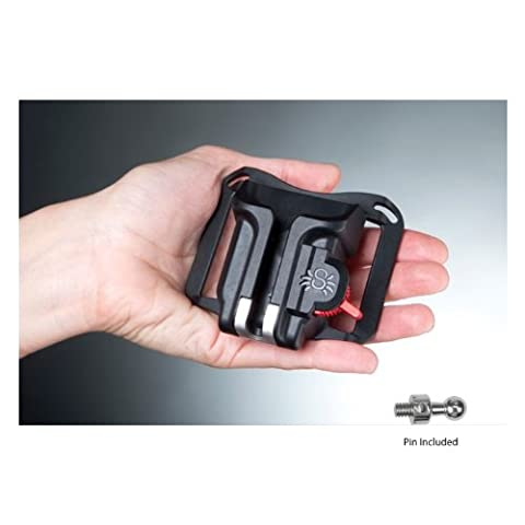 Spider Holster Black Widow Spider Camera Holster for Lightweight DSLRs & Point-and-shoot Cameras