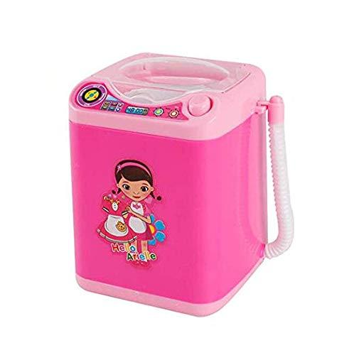 MAKEUP BRUSH CLEANER SPINNER MACHINE - Elektronische Mini Waschmaschine Form Automatische Make-up Pinselreiniger Trocknet Tiefenreinigung für Pinsel, Schwamm und Puderquaste Tiktok Toy