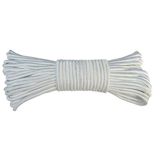 Flagge, Seil Solid Braid Polyester Fahnenstange # 8(¼