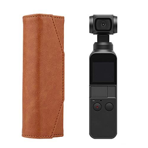 Gimbal Kamera All-Around Schutzhülle Stoßfest Schutz Tragbare stoßfeste Harte Aufbewahrungsbox magnetische Fall-Abdeckung Case Silikon-Schutzhülle (Brown) ()