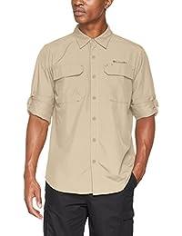 0b761c11b Columbia XO0665 Camisa de Excursionismo de Manga Larga para Hombre