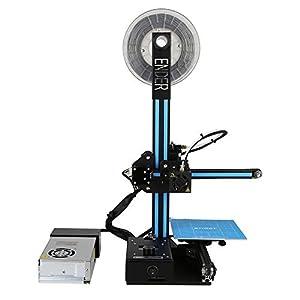Impresoras 3D Creality Ender 2, Impresora 3D con Hotbed, tamaño de impresión de 150X150X200mm / 5.9x5.9x7.8 Pulgadas Support PLA, ABS, TPU