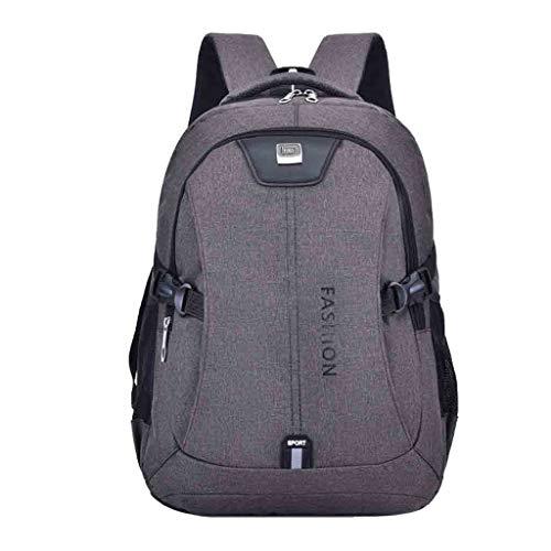 holitie USB Aufladungsrucksack mit großem Fassungsvermögen Reise Business Passwort Tote Wanderrucksack Schultasche Herren Laptop Rucksack mit - Chic Hobo