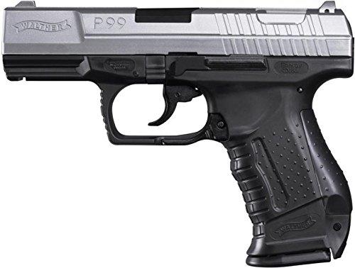 Walther P99 BICOLOR inkl. Ersatzmagazin Federdruck Softair Pistole 6 mm BB 0,5 J -