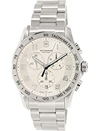Victorinox Swiss Army Herren-Armbanduhr Chronograph Quarz Edelstahl 241654