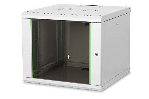 DIGITUS Professional 9HE Netzwerk Wandgehäuse/Wandschrank, Unique Line, 509x600x600 mm, grau (RAL 7035)