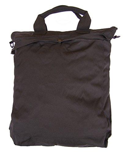 Imagen de bolsa  porta casco militar con correas mil tec, negro alternativa
