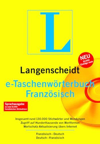Langenscheidt e-Taschenwörterbuch Französisch [Download]