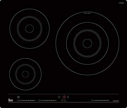 Vitro De Induccion Teka IBC63001 3 Fuegos