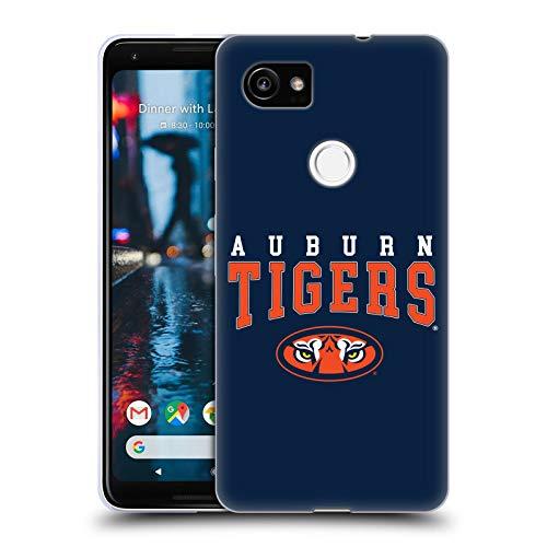 Head Case Designs Offizielle Auburn University AU Auburn Tiger Soft Gel Huelle kompatibel mit Google Pixel 2 XL -