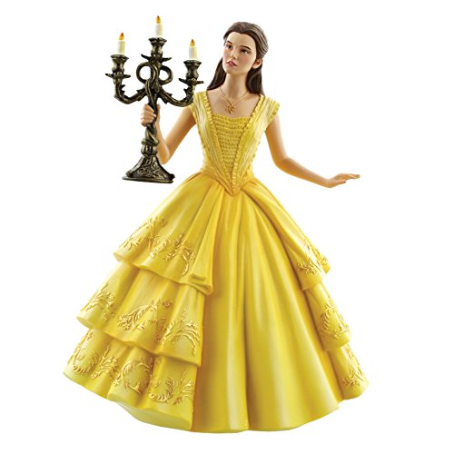 Disney Showcase Live Action Belle Figurine, Resin, Multicolour, 17 x 14 x 22 cm