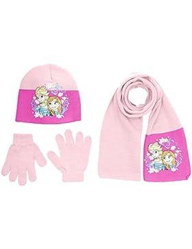 Disney Frozen - Cappello + guanti + sciarpa da bambina