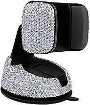 CDDKJDS أزياء متعددة الوظائف للسيارات، حامل لمسند السيارة للسيارة للسيارة إنعاش الماس دعم للهاتف المحمول الإبد