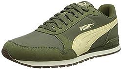 PUMA Unisex-Erwachsene St Runner V2 Nl Sneaker, Grün(Dachsund-Summer Melon-Whisper White), 42 EU(8 UK)