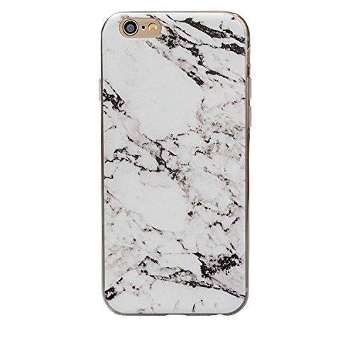 Étui pour iPhone 5, iPhone 5S, étui, ruirs Nice coloré d'impression marbrures rigide ultra fine Coque souple en TPU pour iPhone 5/5S, plastique, Blue Plaid, iPhone 4 4S blanc