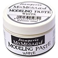 Stamperia Modelling paste 150 ml-Blanc, 7,5x6 cm