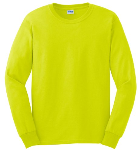 Pirate Booty auf American Apparel Fine Jersey Shirt grün - Safety Green