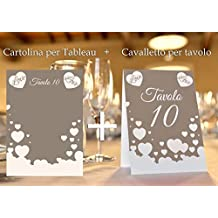 Tableau Matrimonio In Legno : Amazon.it: tableau matrimonio legno