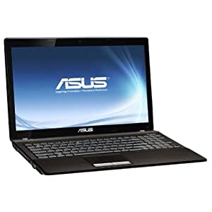 "Asus K53TA-SX118V Ordinateur portable 15,6"" (39,6 cm) AMD Vision APU A6-3400M 640 Go RAM 4096 Mo Windows 7 Carte graphique AMD Radeon HD6650M Marron Foncé Mat"