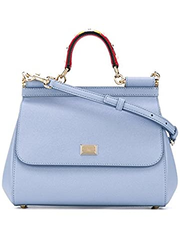 Dolce E Gabbana Women's Bb6002ai3528h422 Light Blue Leather