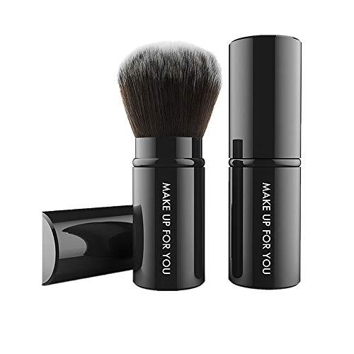 ALIKEEY★★Kit de pinceau de maquillage cosmétique Kabuki Blush Foundation poudre rétractable
