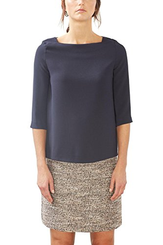 ESPRIT Collection 017eo1f007, Blusa Para Mujer, Rosa (Nude), 36