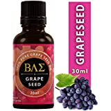 AWSM Grape Seed Cold Pressed, Pure and Natural Carrier Oil for Aromatherapy, Massage, Moisturizing Skin and Hair (30 ml)