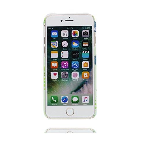 Custodia iPhone 6s Plus , Cartoon cactus Thorns - Cover Case iPhone 6 Plus / 6S Plus Copertura, TPU flessibile slittamento di polvere resistente ai graffi Original # 5
