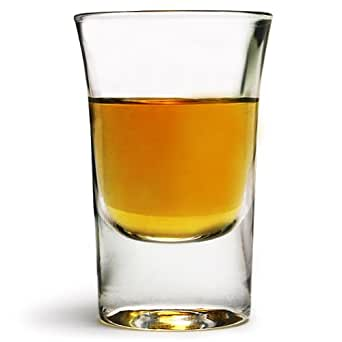 Hot Shot Glasses 1.2oz / 35ml - Set of 6   Boston Shot Glass