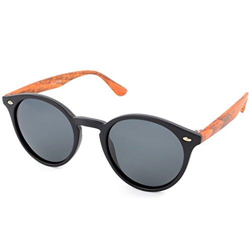 City Vision Polarisierende Damen Cat-Eye Sonnenbrille 21628 Schwarz Kiefer 1 -