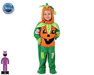 Atosa-61208 Atosa-61208-Disfraz Calabaza-Bebé niño, Color naranja, 24 Meses (61208