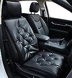 Big Ant Auto Sitzauflage Auto Sitzkissen Autositzbezug Auto Vordersitz Kissen weiche Sitzauflagen Sitzbezug Passt für alle Autositz schwarz (1 Stück)