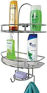 MOCHEN Premium Extra Strong Bathroom and Kitchen Wall Hanging Storage Shelves (Chrome Plated)…