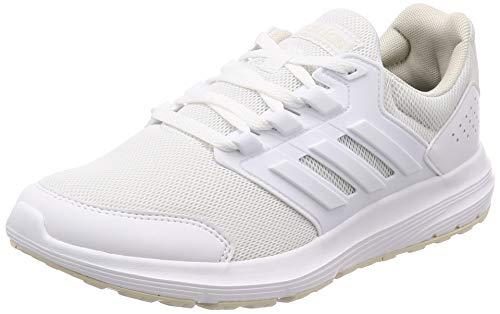 adidas Damen Galaxy 4 Laufschuhe, Weiß FTWR Raw White, 38 2/3 EU