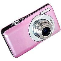Stoga Digital Camera DC-V100 Mini Digital Compact Camera 5 x Optical Zoom 8 x Digital Zoom 2.7 inch TFT LCD HD Compact Digital Camera - Pink