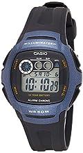 Casio Orologio Digitale al Quarzo Uomo con Cinturino in Resina W-210-1BVES