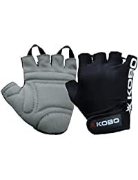 KOBO Fitness Gloves / Weight Lifting Gloves / Gym Gloves / Bike Gloves (Imported)