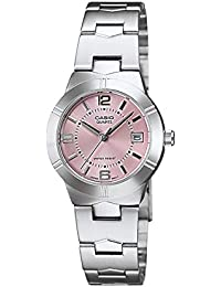 20162844730 Casio Enticer Analog Pink Dial Women s Watch - LTP-1241D-4ADF (A873)