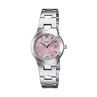Casio Enticer Analog Pink Dial Women's Watch – LTP-1241D-4ADF (A873)