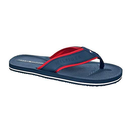 Tommy Hilfiger Flip-Flops Moulded Marine Herren 45 Blue