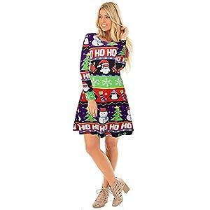 Ruiyige-Frauen-Schnee-Baum-Drucken-Lssige-Weihnachten-Kleid-Party-Kleid