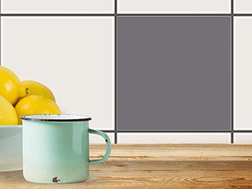 Piastrelle-bagno | Design adesivi per pavimenti per interni - adesivi per mobili decorazioni adesive per (2 Pezzi Ottomana)