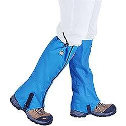 Vovoly Polainas Impermeable al Aire Libre para senderismo, esquí, senderismo, montañismo, caza