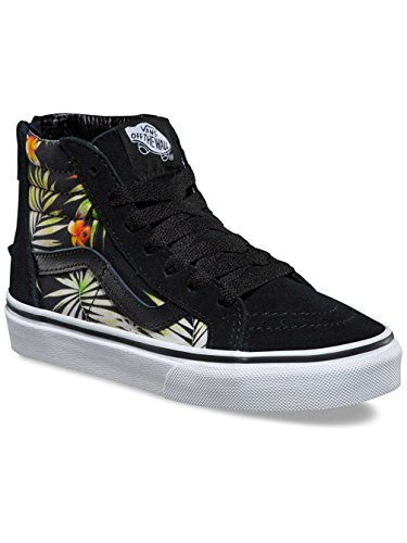 Vans Jungen Uy Sk8-Hi Zip Hohe Sneakers decay palms black/true wh