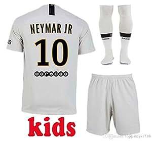 maillot Neymar n°10 PSG Exterieur - Taille 12 Ans/ 150 cm Environ Spendide avec Short + Chaussettes Modèle Générique Répliqua + 2018/2019